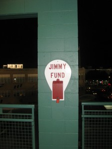 "Fenway Park's ""Jimmy Fund"" for cancer research"