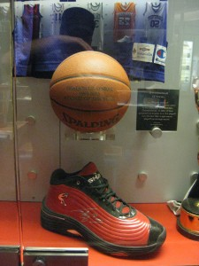 Shaquile O'Neal's shoe