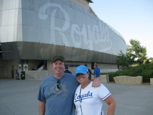 Kauffman Stadium in Kansas City