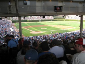 Standing Room Only at Wrigley Field